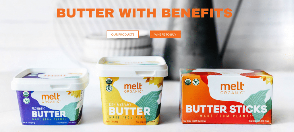 Melt Organic Plant-based Butter